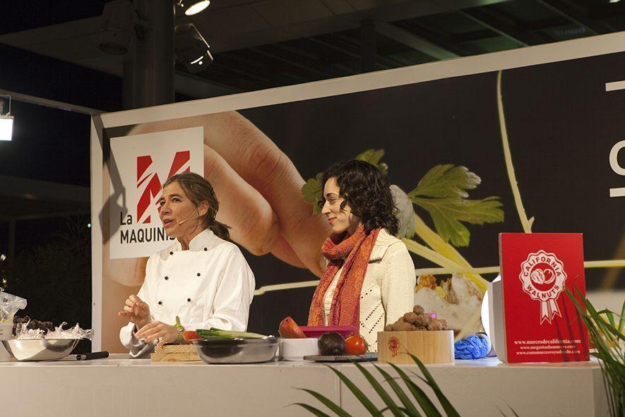Jornadas de alimentación con Júlia Farré, Ada Parellada y nueces de California