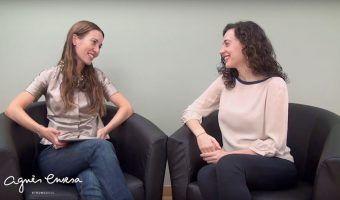 Júlia Farré y Agnés Ensesa