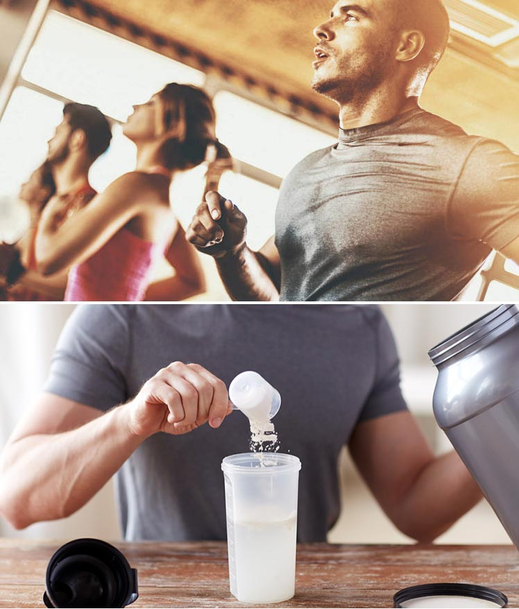 dieta para muscular en el gimnasio