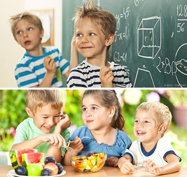 alimentación infantil en el colegio