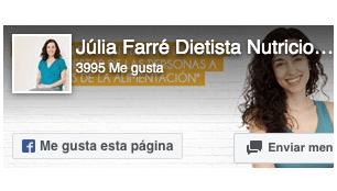 Facebook Dietista Julia Farre