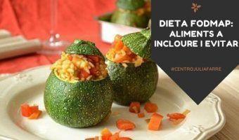dieta fodmap aliments a incloure